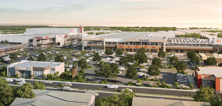 Rendering of The Boulevard in Staten Island. Photo: Kimco