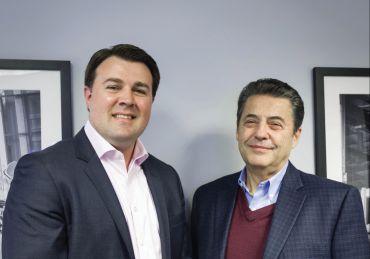 Matthew Downs and Herbert Kolben. Photo: Cathy Cunningham/ Commercial Observer