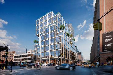 61 Ninth Avenue. Rendering: Vornado Realty Trust