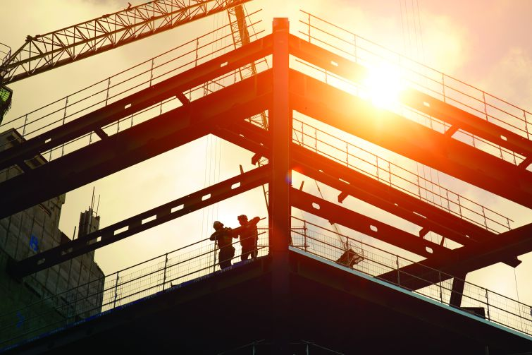 Construction worker wages went up 5.4 percent last year, the biggest annual increase since before the Great Recession. Photo: Getty Images