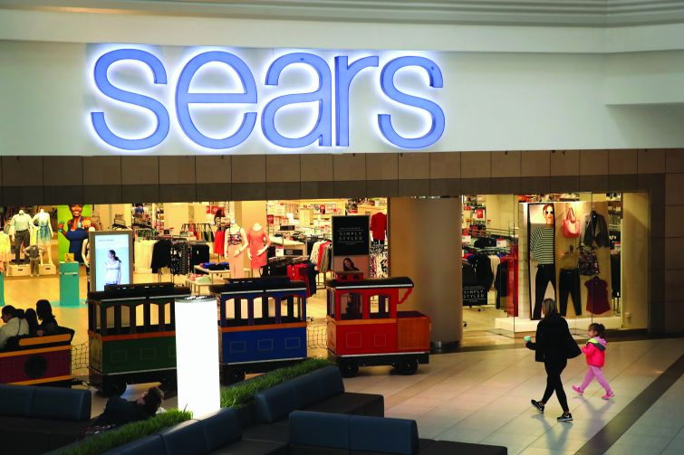 A typical Sears store.