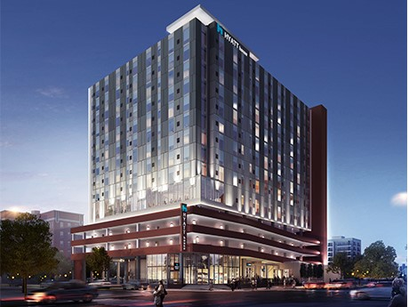 A rendering of Hyatt House in Nashville, Tenn. Photo: Citizens Bank