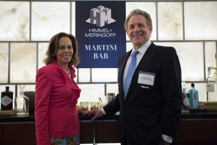 Leslie Himmel and Steve Meringoff of Himmel + Meringoff Properties.