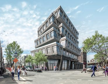 A rendering of 88 Withers Street in Williamsburg, Brooklyn. Photo: Meridian Capital Group