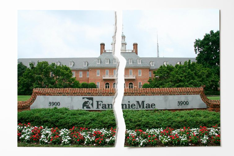 Fannie Mae's headquarters at 3900 Wisconsin Avenue, in Washington, D.C. Photo: Getty Images