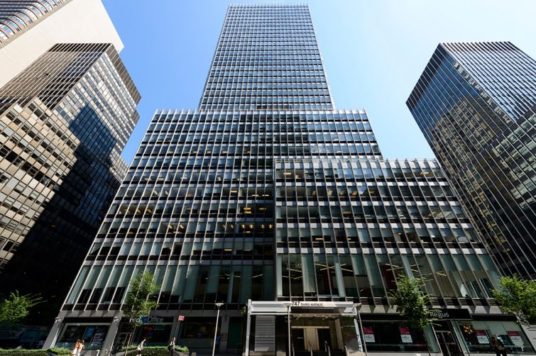 747 Third Avenue. Photo: Sage Realty Corporation