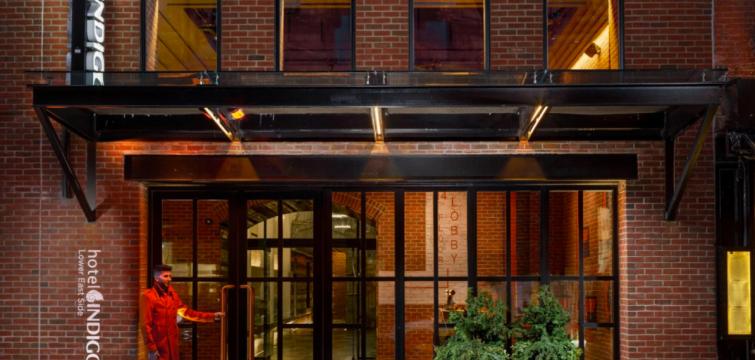 Hotel Indigo Lower East Side at 171 Ludlow Street. Photo: Hotel Indigo Lower East Side website