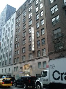 The Shoreham Hotel at 33 West 55th Street.