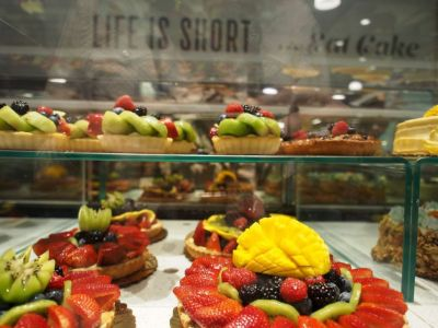 Whole Foods pastries potentially soon available by Amazon drone? Photo: Robyn Beck/AFP/Getty Images