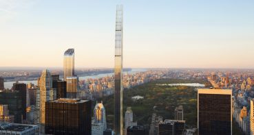 A rendering of 111 West 57th Street.