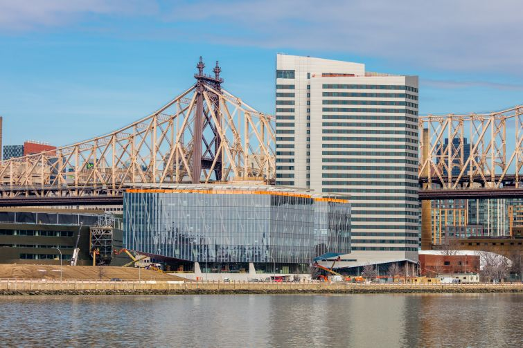 The Bridge and The House at Cornell Tech. Photo: Max Touhey