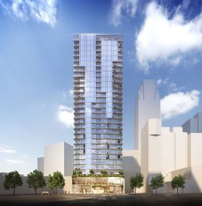 Rendering of 436 Albee Square in Downtown Brooklyn.