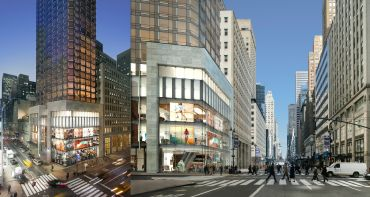 A rendering of the planned project at 520 Fifth Avenue.