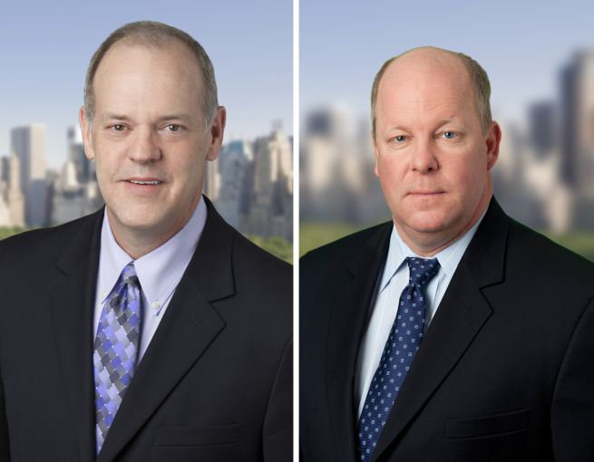 Kevin Donahue (left) and Barry Davis (right). Photo: C-III Capital Partners.