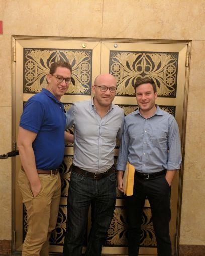 From left: Sam Reznitsky, Michael Rouzenrovich, Mayer Jotkowitz.