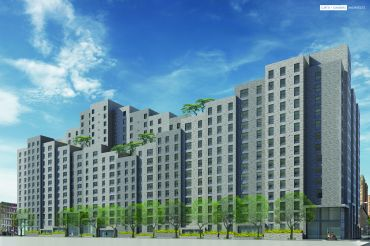 A rendering of Lexington Gardens II. Courtesy: L+M Development Partners.
