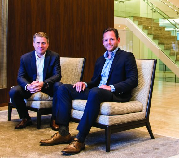 From left: Tom Traynor and James Millon, executive vice presidents with CBRE. Photo: CBRE