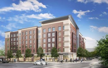 A rendering of Gilliam Place. Courtesy: Capital One.