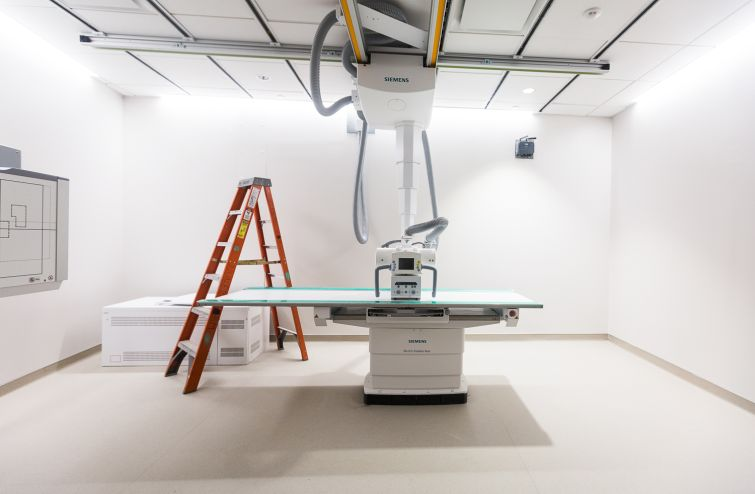 An imaging room. Photo: Emily Assiran/For Commercial Observer