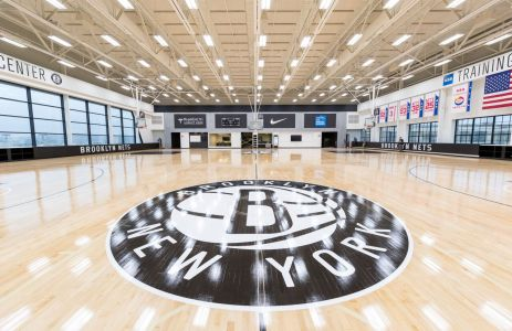 The Brooklyn Nets Training facility in Industry City.