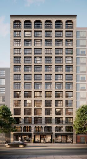 Artist rendering of 211 Schermerhorn Street. Image: Alan Hill Design/Arc Media