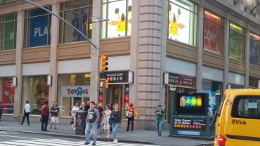 "The Toys ""R"" Us pop-up store at 1466 Broadway. Photo: Lauren Elkies Schram"