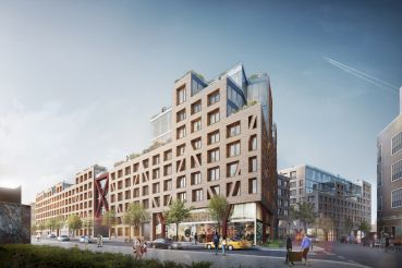 Rendering of the Denizen Phase II in Bushwick.