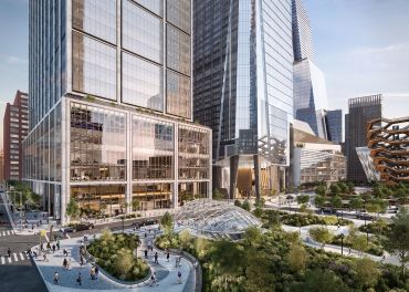 A rendering of 50 Hudson Yards. Courtesy: Related Companies and Oxford Properties Group