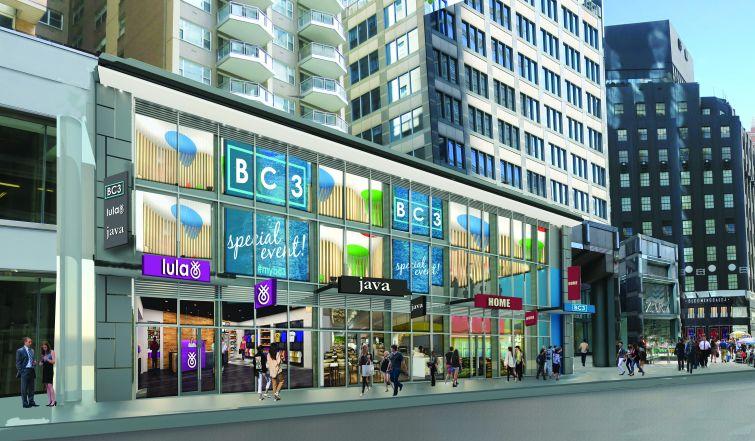 Rendering of 127 East 59th Street.