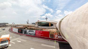 The TWA Flight Center will reopen as a hotel in 2019 after it shuttered in 2001. Photo: Max Touhey