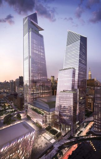 10 and 30 Hudson Yards.