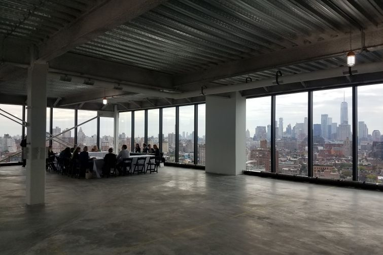 CBRE's third quarter Manhattan office market media briefing at 412 West 15th Street in the Meatpacking District.