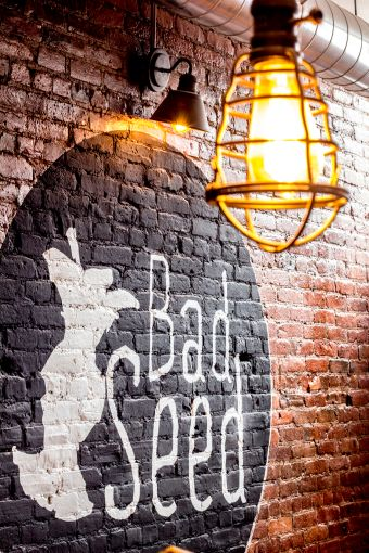 Bad Seed Cider is building out its location at 585 Franklin Avenue.