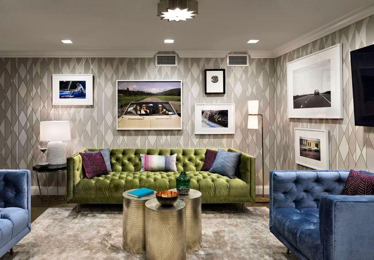The VIP room in the basement.