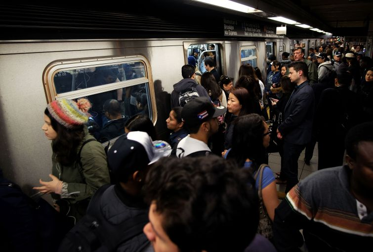 STEEL SLUG: An internal report by New York City Transit found that subway delays cost the average rider three minutes per ride and the city $3 billion per year.