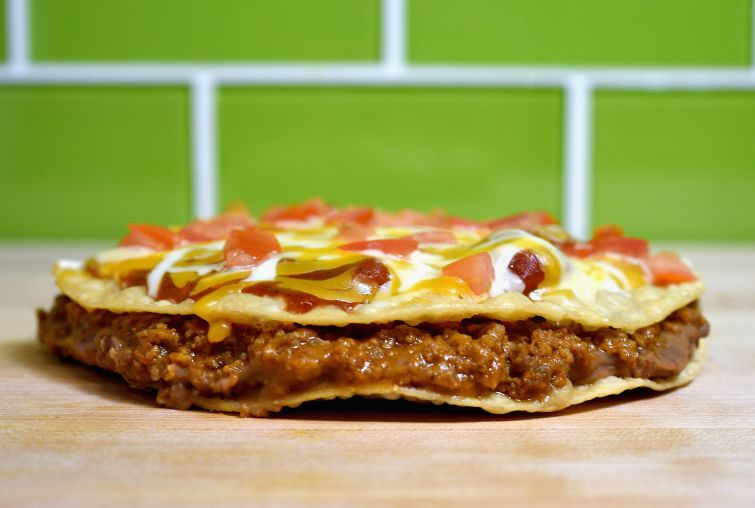 Taco Bell's Mexican Pizza.  (