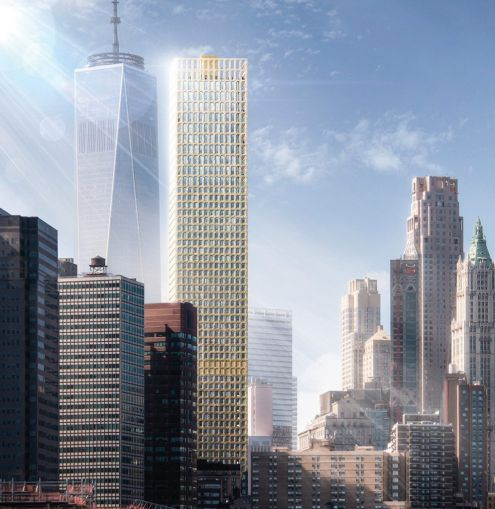 Gilbane Building Company is building Lightstone Group's 60-story tower at 130 William Street.