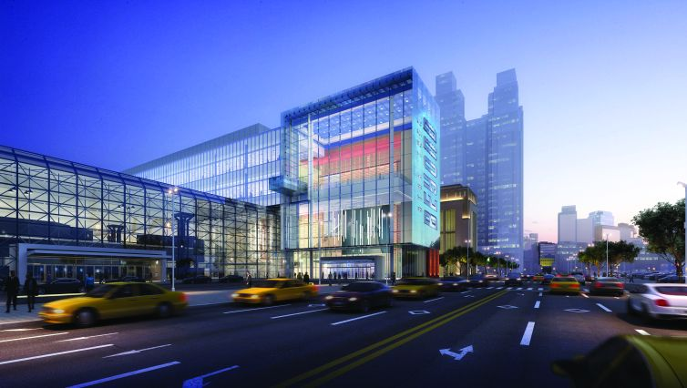 Turner Construction Company and Lendlease are jointly building the expansion to the Javits Center.