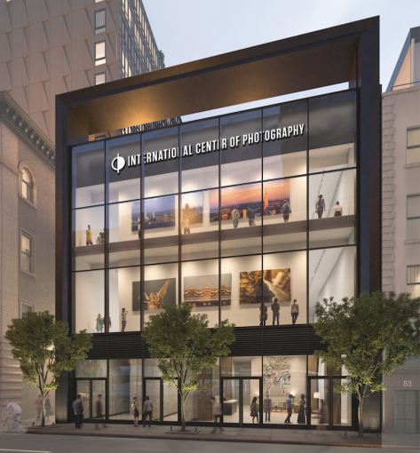 International Center of Photography's new museum and school at 242 Broome Street.