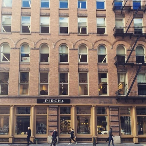 Pirch's home at 200 Lafayette Street.