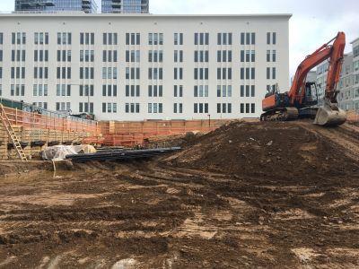 Construction Underway at 200 Kent Street.