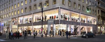 A rendering of the retail at 530 Fifth Avenue.