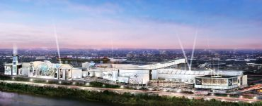 Rendering of American Dream Meadowlands in East Rutherford, N.J.