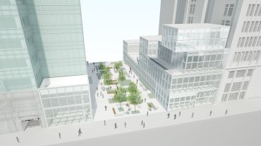 A rendering of 120 West 42nd Street.