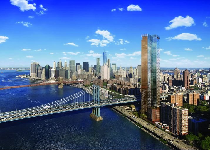 Rendering of One Manhattan Square.