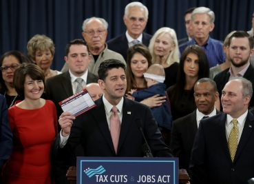 Speaker of the House Paul Ryan introduces tax reform legislation.