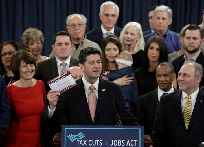 Speaker of the House Paul Ryan introduces tax reform legislation.