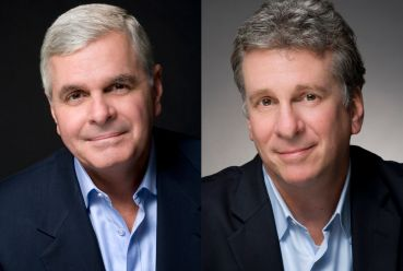 Michael Reid, left, and Gerard Nocera of the newly formed HSP Real Estate Group.