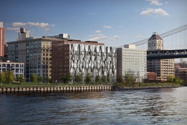 Rendering of 10 Jay Street in Dumbo.