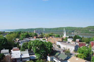 A view of downtown Poughkeepsie.